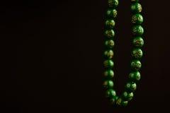 成串珠状祷告 库存图片