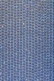 成串珠状蓝色 免版税图库摄影