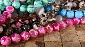 成串珠状jewelery当时尚背景 影视素材