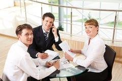 成为成功的伙伴 免版税库存图片