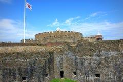 成交城堡肯特英国 免版税图库摄影