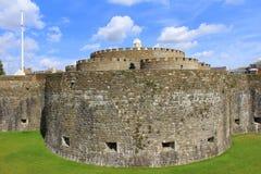 成交城堡肯特英国 免版税库存图片