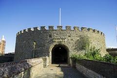 成交城堡 库存照片