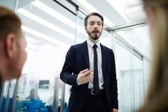 成人企业生意人成熟刺激工作 图库摄影