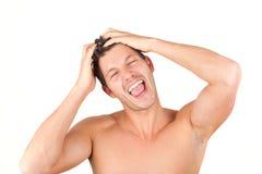 成人剪切礼服头发人样式年轻人 免版税库存照片