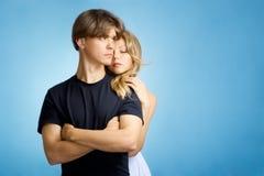 成人夫妇年轻人 免版税库存图片