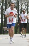 成人日本运行赛跑者 图库摄影