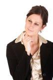 成人有吸引力的企业想法妇女年轻人 免版税库存图片