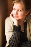 成人美丽的妇女 免版税图库摄影