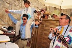 成人仪式-犹太成熟礼仪式 图库摄影