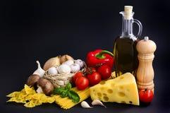 成份意大利面食 图库摄影