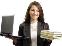 成功企业的女孩 免版税库存图片