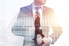 成功和上司概念 库存图片