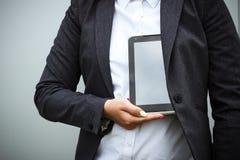 成功和交涉的企业概念 一个妇女上司,在a 免版税库存图片