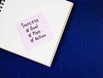 成功概念10 库存图片