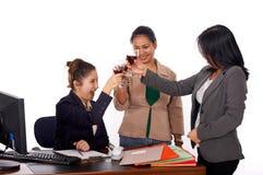 成功的三个妇女年轻人 图库摄影