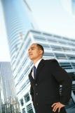 成功的业务责任人 免版税库存图片