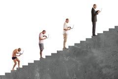 成功的人事业演变 免版税图库摄影