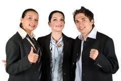 成功的人小组工作 免版税库存照片