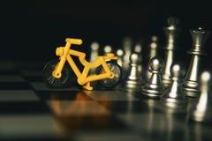 成功的人民下棋比赛  免版税库存图片