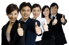 成功的企业小组 库存图片