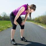 成功的体育锻炼 免版税库存图片