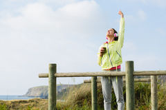 成功的健身和体育生活方式 免版税库存照片