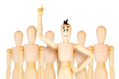 成功的团队负责人和另一个企业主导的概念 向量例证