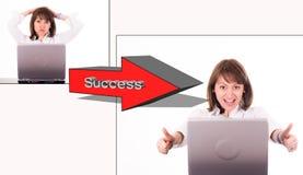 成功的妇女 免版税库存图片