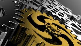 成功的战略商人是被协调的工作整个企业队 皇族释放例证