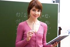 成功的教师 库存图片