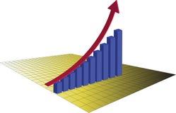 成功的股市贸易 向量例证
