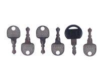 成功的钥匙只是一个,并且它是不同的 库存照片