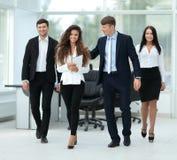 成功的businessteam计划工作 库存照片