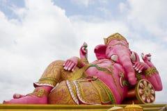 成功的Ganesha神 免版税库存图片