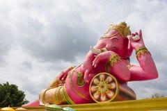 成功的Ganesha神 免版税库存照片
