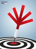 成功目标 箭目标成功企业概念 能为工作流布局,横幅,图,网络设计使用 库存照片