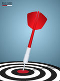 成功目标 箭目标成功企业概念 库存照片