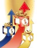 成功资本概念的投资 向量例证