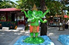 成功雕象的Ganesha阁下在Wat轰隆Chak的 库存图片