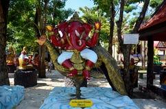 成功雕象的Ganesha阁下在Wat轰隆Chak的 图库摄影