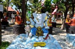 成功雕象的Ganesha阁下在Wat轰隆Chak的 库存照片