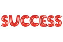 成功,红颜色 免版税库存图片