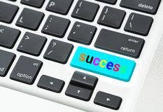 成功(企业成功概念)的钥匙 免版税图库摄影
