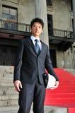 成功4个亚洲人的工程师 免版税库存图片