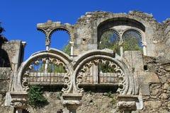 成拱形中世纪 免版税库存照片