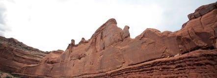 成拱形国家公园,犹他,美国 免版税图库摄影