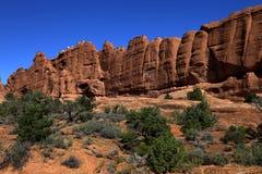 成拱形国家公园 免版税库存照片
