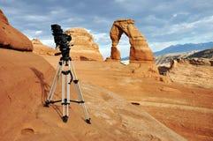 成拱形国家公园 库存照片