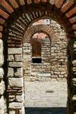 成拱形希腊 库存照片